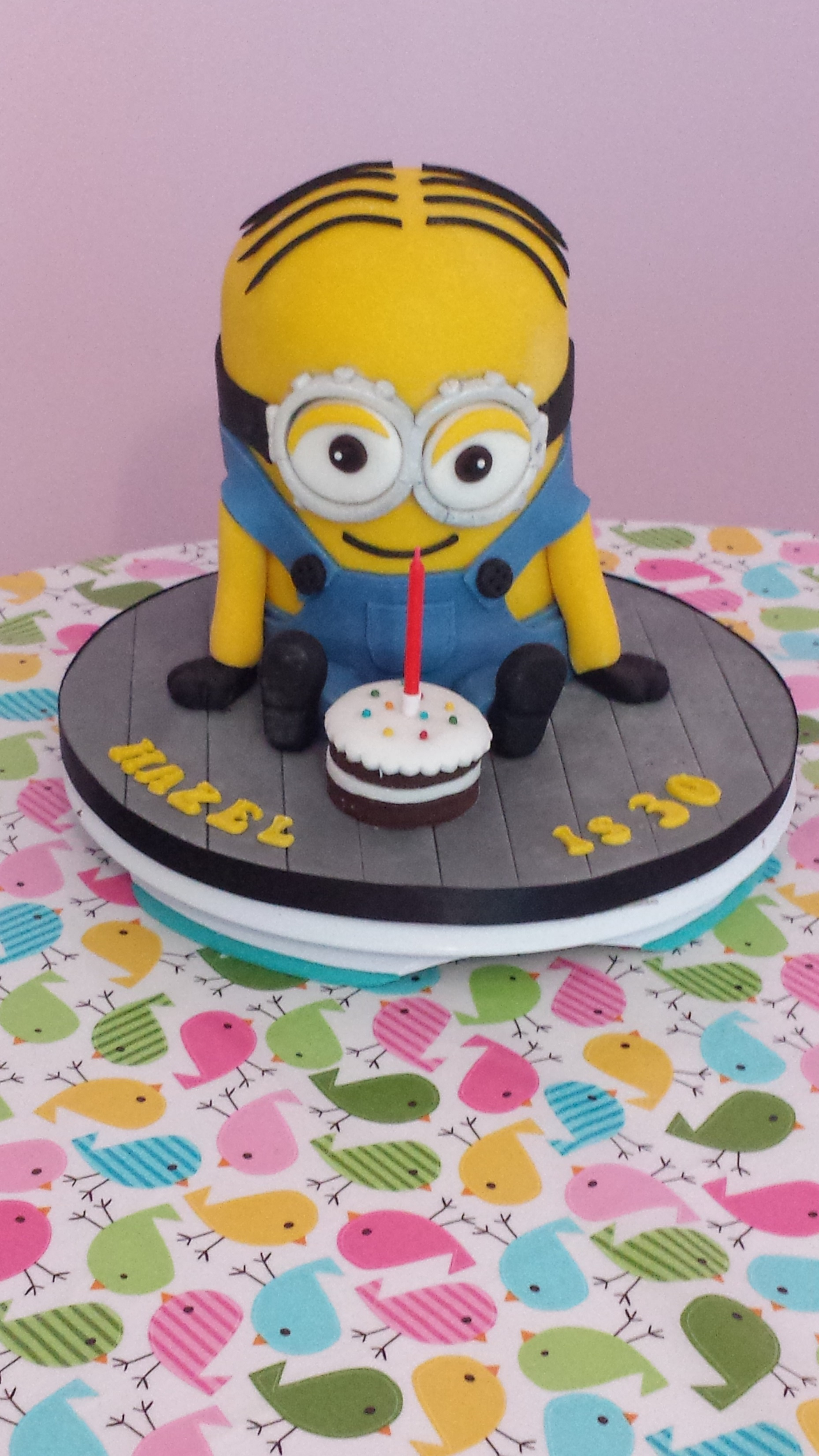 Dave the Minion Cake The Trooper Bake Meah Cake